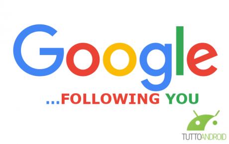 Google Following You