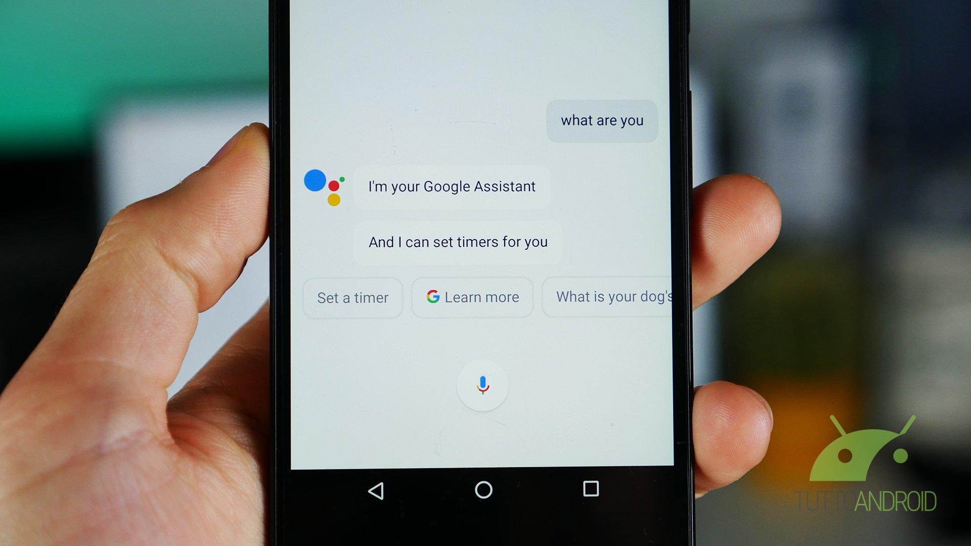 Google Assistant sbarca su tutti gli smartphone Android