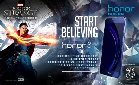Marvel and Honor Doctor Strange cooperation 1