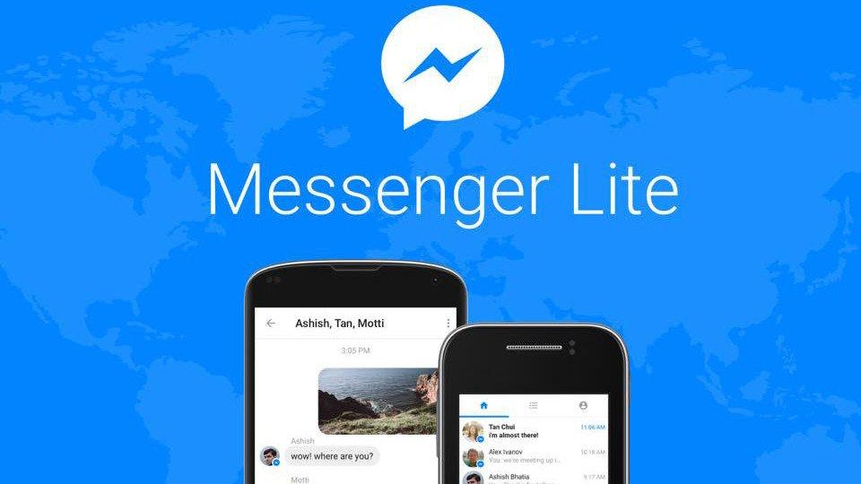 Facebook lancia Messenger Lite, chat per vecchi smartphone nei paesi emergenti