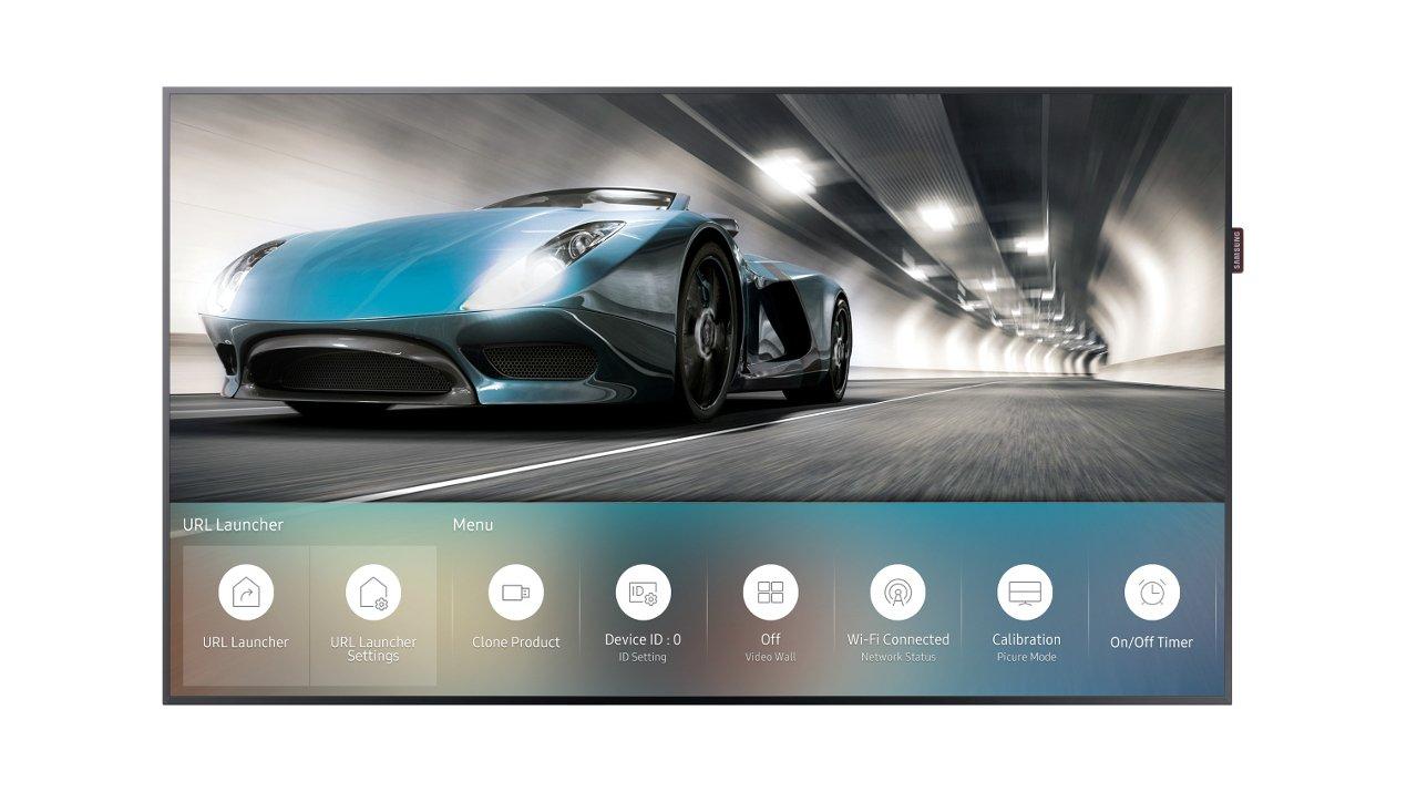 Samsung lancia i primi display stand alone con Tizen OS a bordo