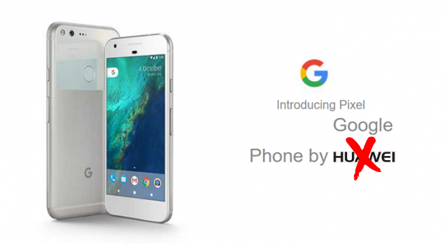 Huawei avrebbe potuto produrre i Google Pixel ma ha rifiutato i vincoli di Google