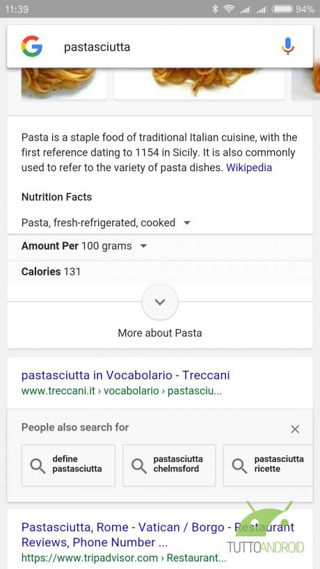 RicercaGoogleRelated TA