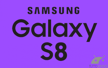 Samsung Galaxy S8 logo marked