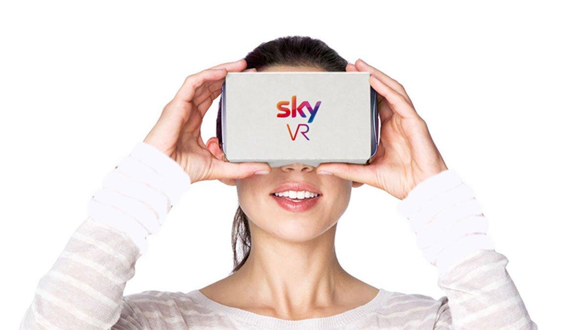 La tv che cambia: Sky lancia la realtà virtuale