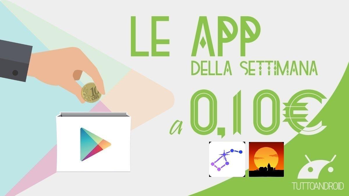 Star Walk 2 e Catan sono le app in offerta a 0,10 euro questa settimana