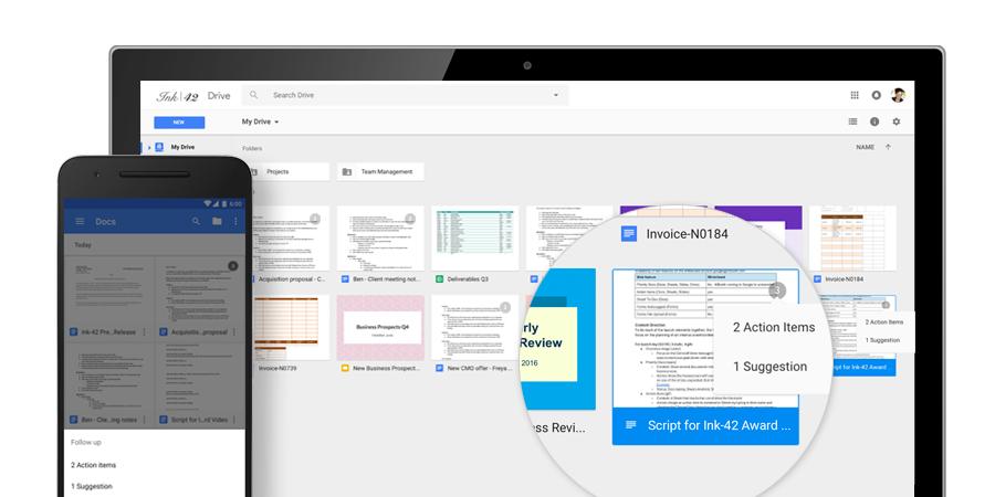 Google annuncia cinque novità per G Suite