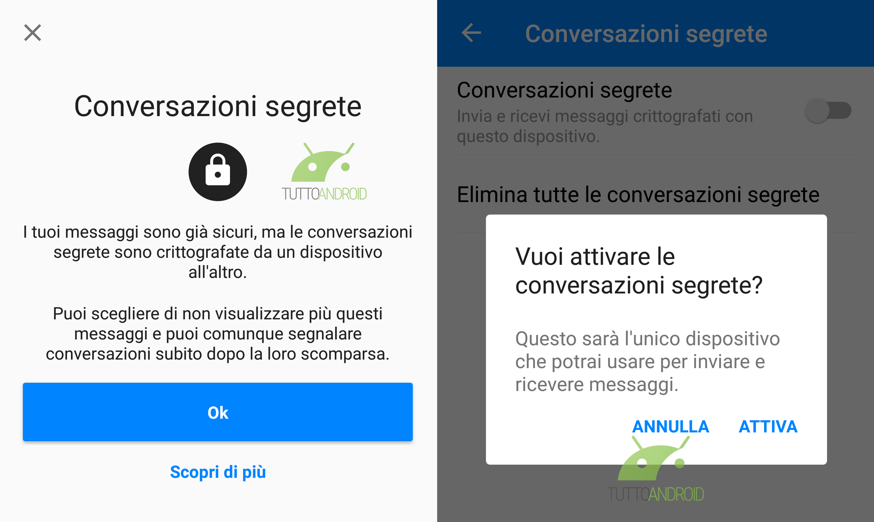 Facebook Messenger apre alla crittografia end-to-end