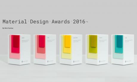 Design material awards 2016