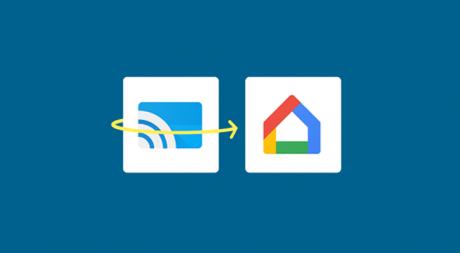 Google cast google home
