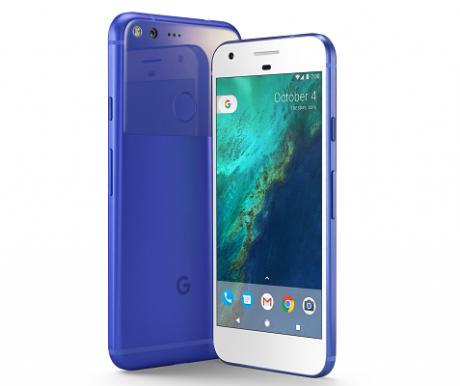 Google pixel blu