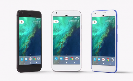 Google pixel blu nero argento