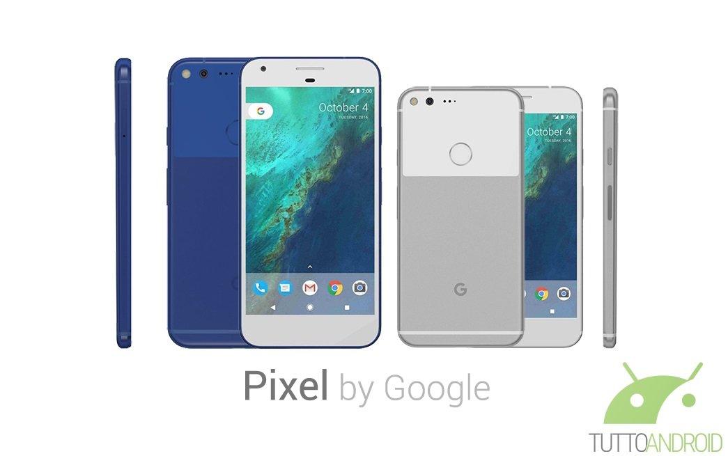Google Pixel e Pixel XL ufficiali: un mix di design e hardware dal look premium