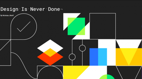 Material design is never done