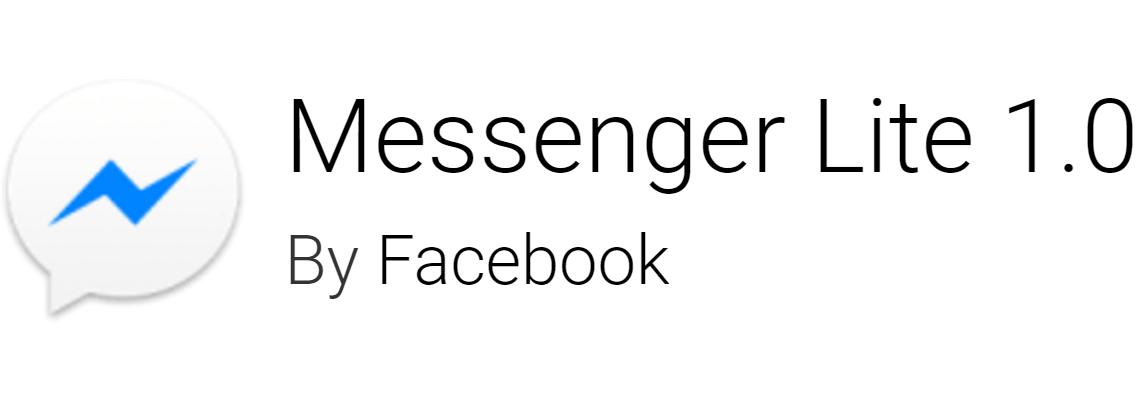 Scaricate subito Messenger Lite: eccovi l'APK