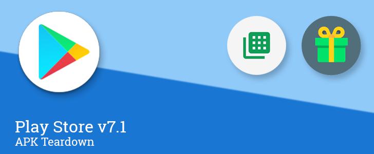 Google Play Store si aggiorna alla versione 7.1 con la nuova icona circolare e nuove funzioni nascoste