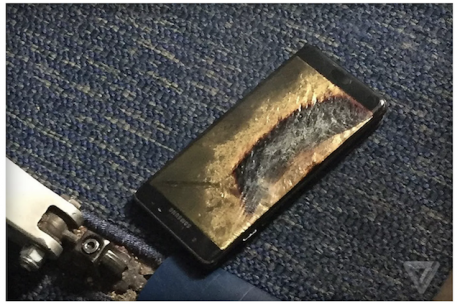Safe galaxy note 7 exploded 2