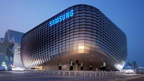 Samsung pavilion