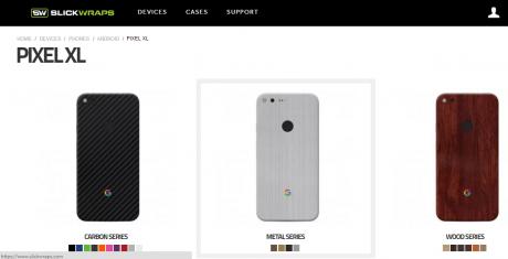 Slickwraps pixel google