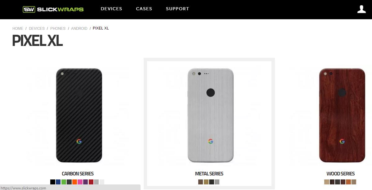 Slickwraps presenta le skin dedicate a Google Pixel e Pixel XL