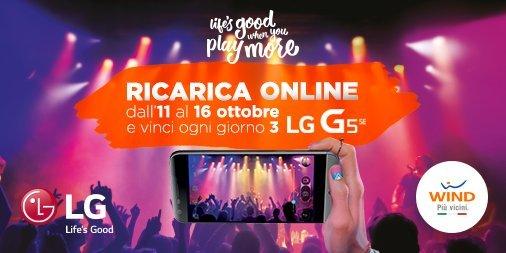 LG G5 SE in regalo con la nuova promozione Wind