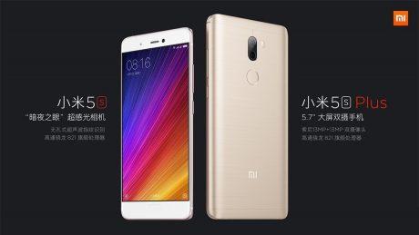 Xiaomi mi 5s and mi 5s plus