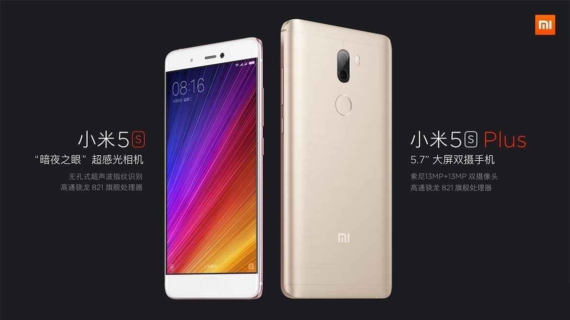 Xiaomi Mi 5S e Mi 5S Plus in preordine da Gearbest con codice sconto