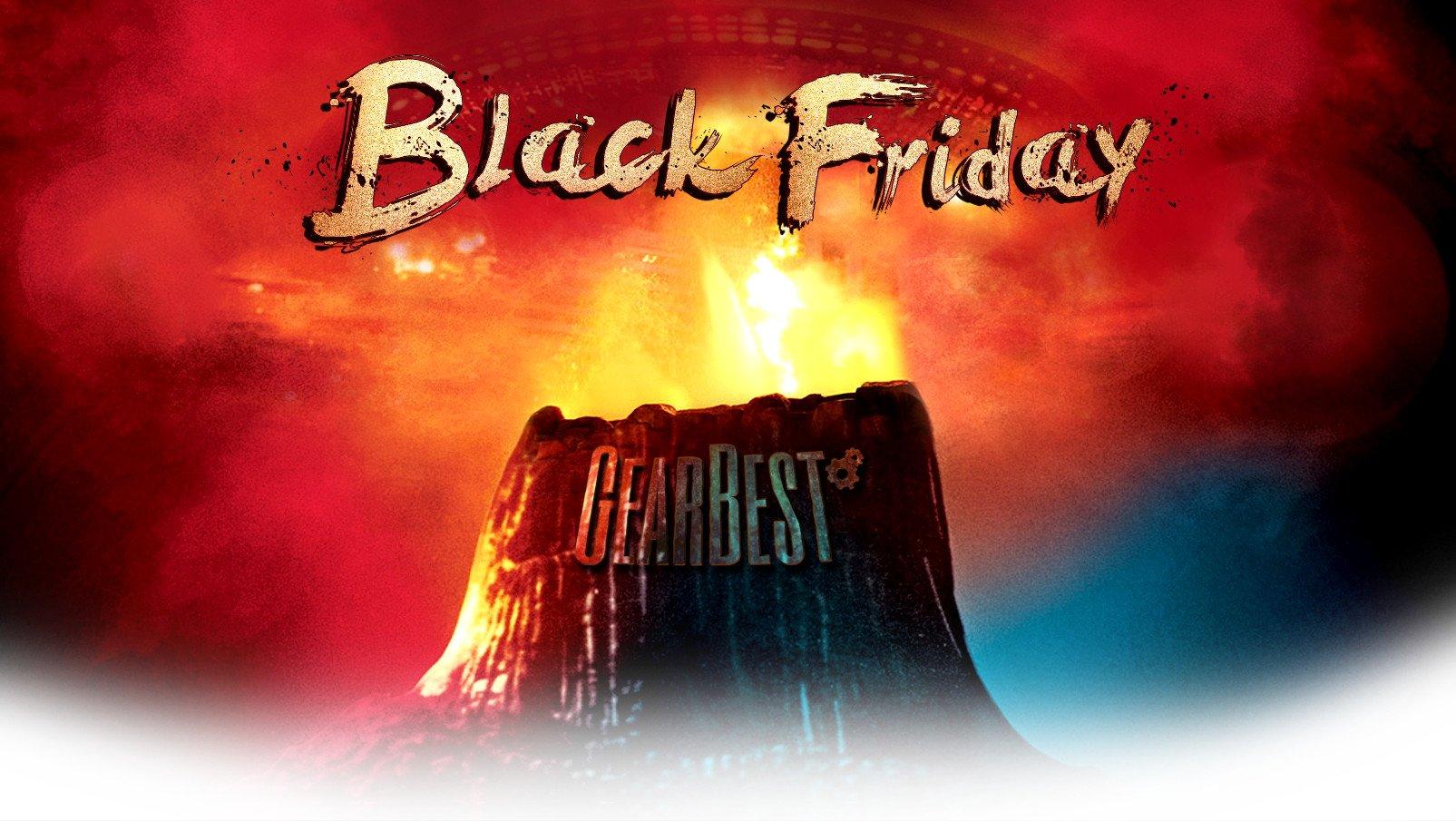 GearBest, scatta il Black Friday con tantissimi sconti