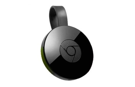 Chromecast 2015 black