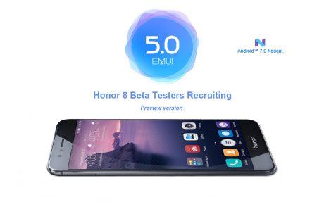 Huawei Honor 8 Nougat beta