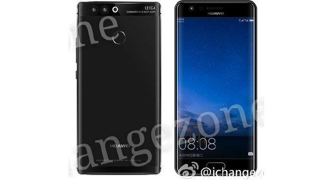 Huawei P10 appare in alcuni presunti render con un display curvo