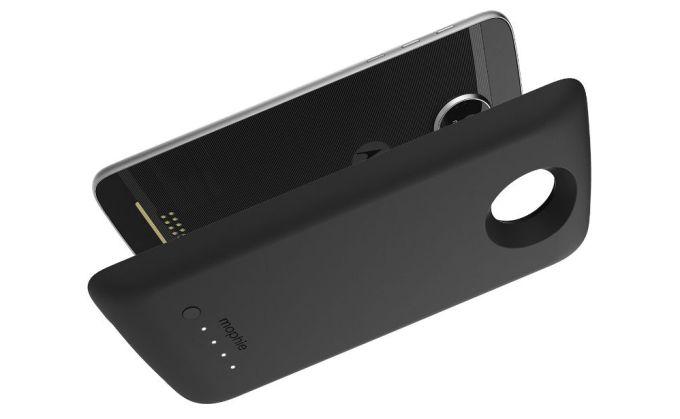 Mophie presenta un battery pack da 3000mAh per la serie Moto Z di Lenovo