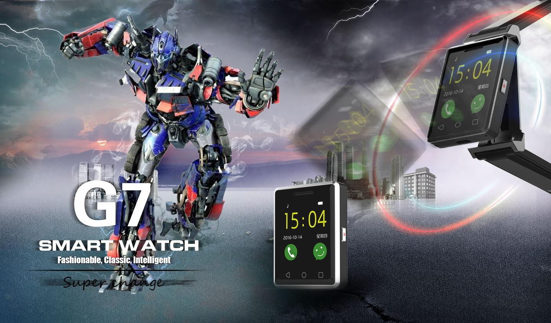 No.1 G7, metà smartwatch e metà samartphone
