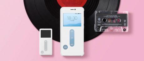 Original Meizu Music Card Smart Leather Flip Cover Case For Meizu Pro 6S pd 1