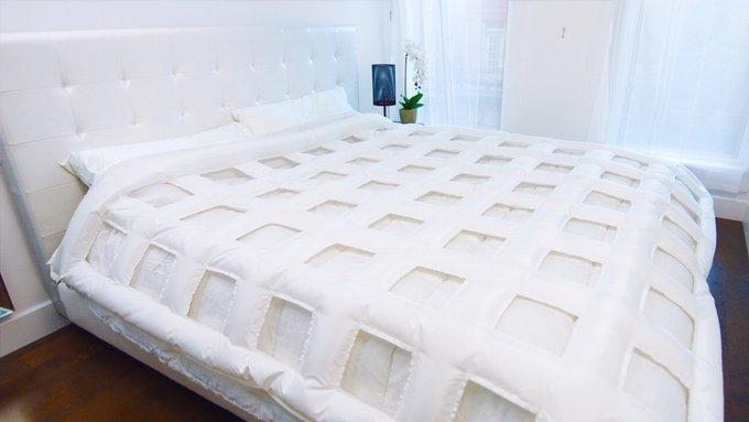 Stufi di rifare il letto? Ci pensano SMARTDUVET e il vostro smartphone Android