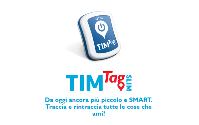 E' arrivato TIMTag Slim, il rilevatore GPS per Android dalle dimensioni compatte