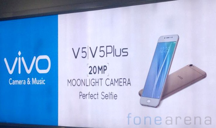 Vivo V5 e V5 Plus: Fotocamera Frontale 20MP | Rumors