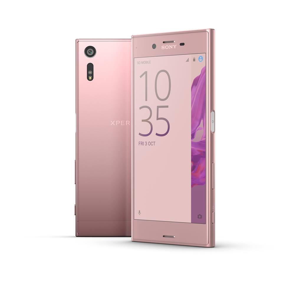Sony annuncia Xperia XZ in colorazione Deep Pink