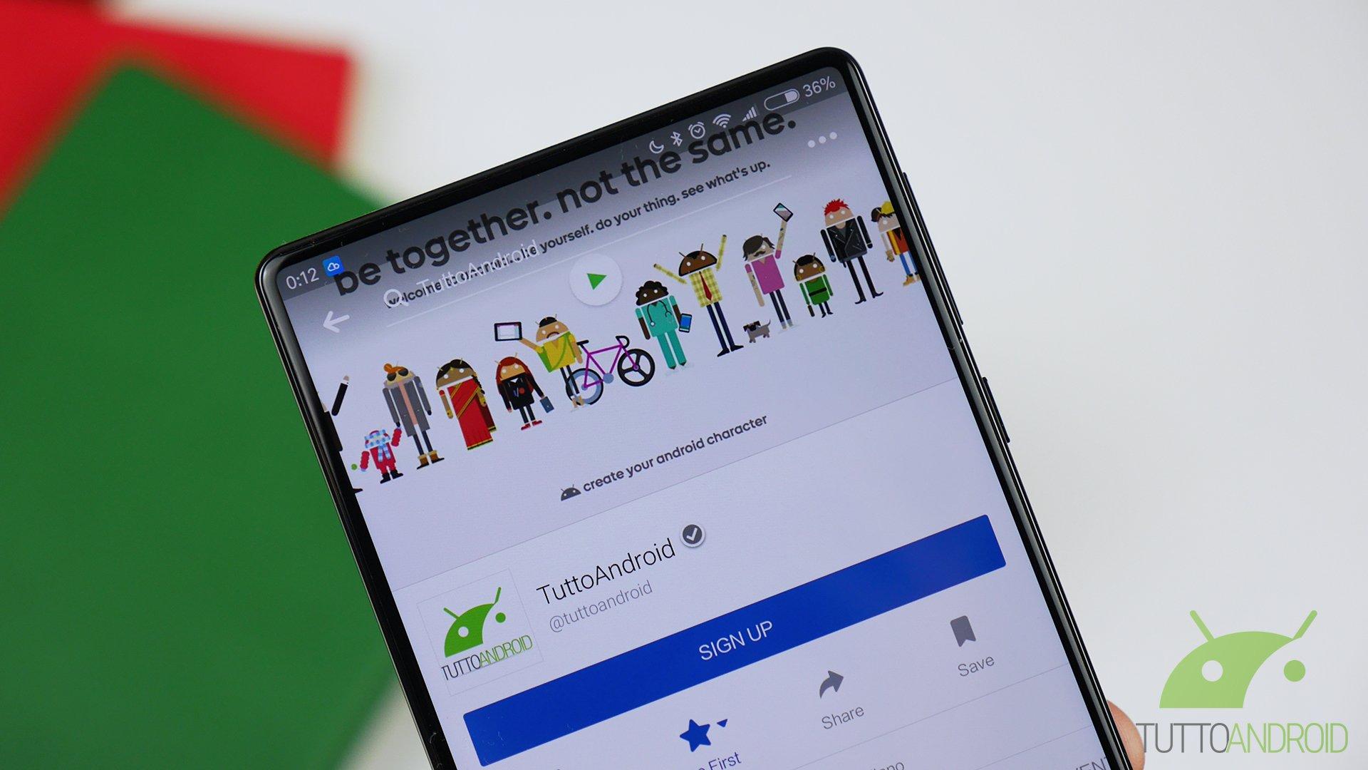 Condividere foto su facebook da android 83