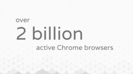 Google chrome 2 miliardi