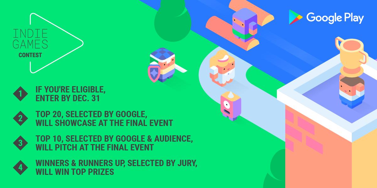 Google lancia l'Indie Games Contest in Europa, fra speranze e tensioni