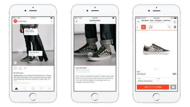 Instagram attiva le foto con tag per gli acquisti online