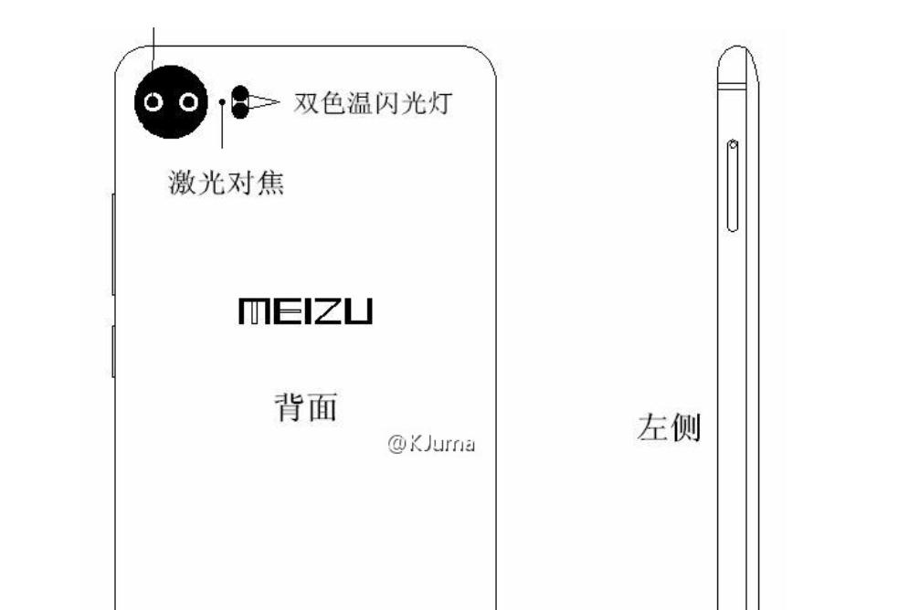 Meizu Pro 7: ecco alcuni disegni che ne rivelerebbero il design