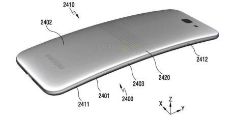 Samsung galaxy x patent b