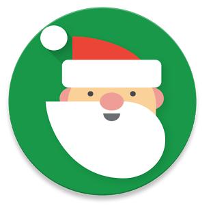 Santa tracker icona