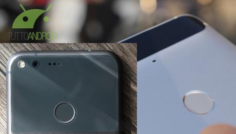Sensore impronte pixel
