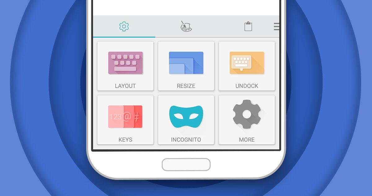Swiftkey si arricchisce con le scorciatoie, gli appunti, modalità incognito ed il nuovo Hub
