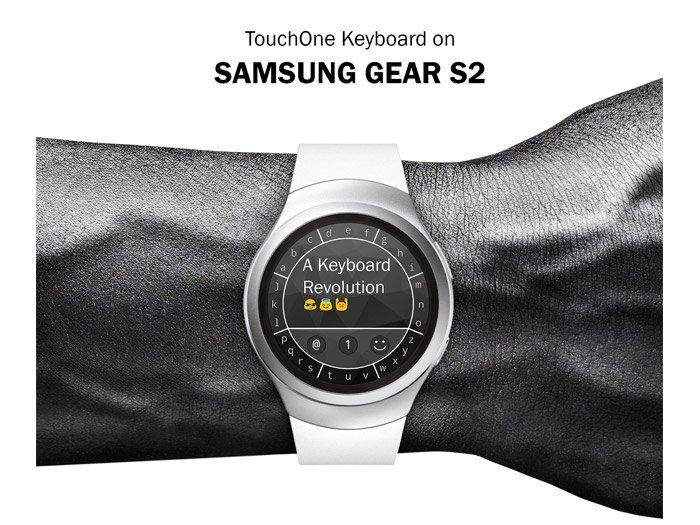 TouchOne Keyboard gratis su Gear S2 e Gear S3 fino al 15 dicembre
