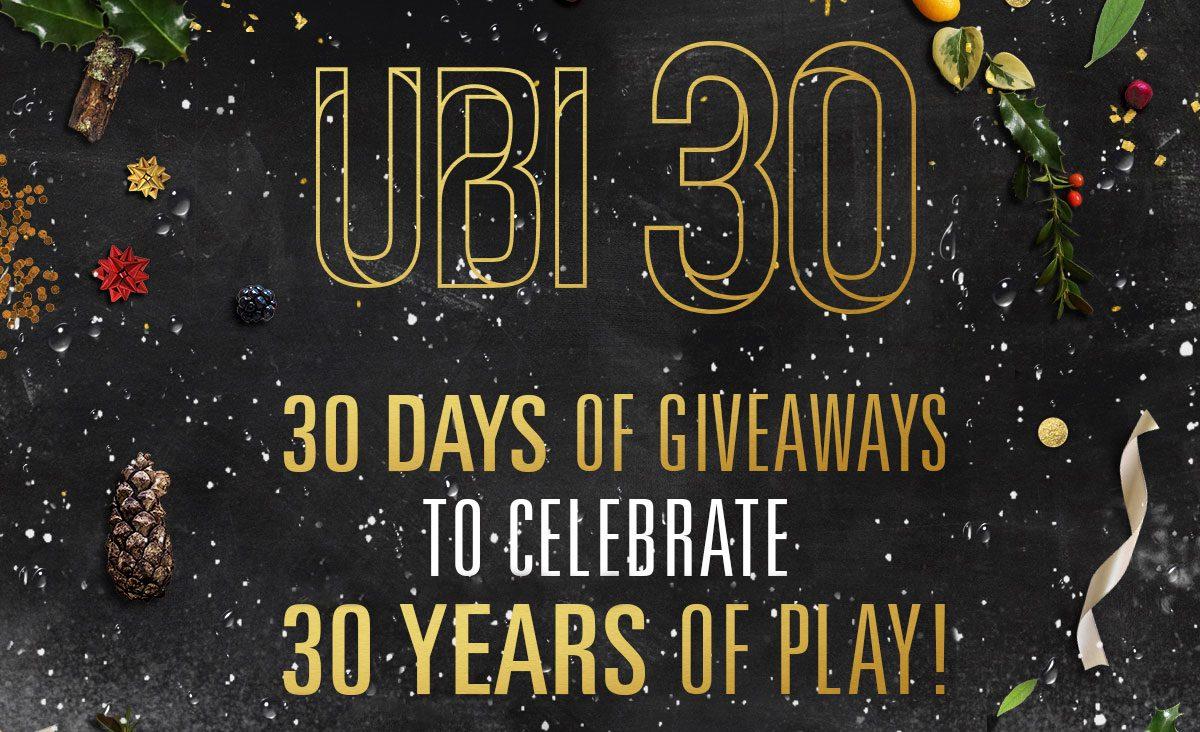Giochi gratis per un mese per il 30° anniversario di Ubisoft