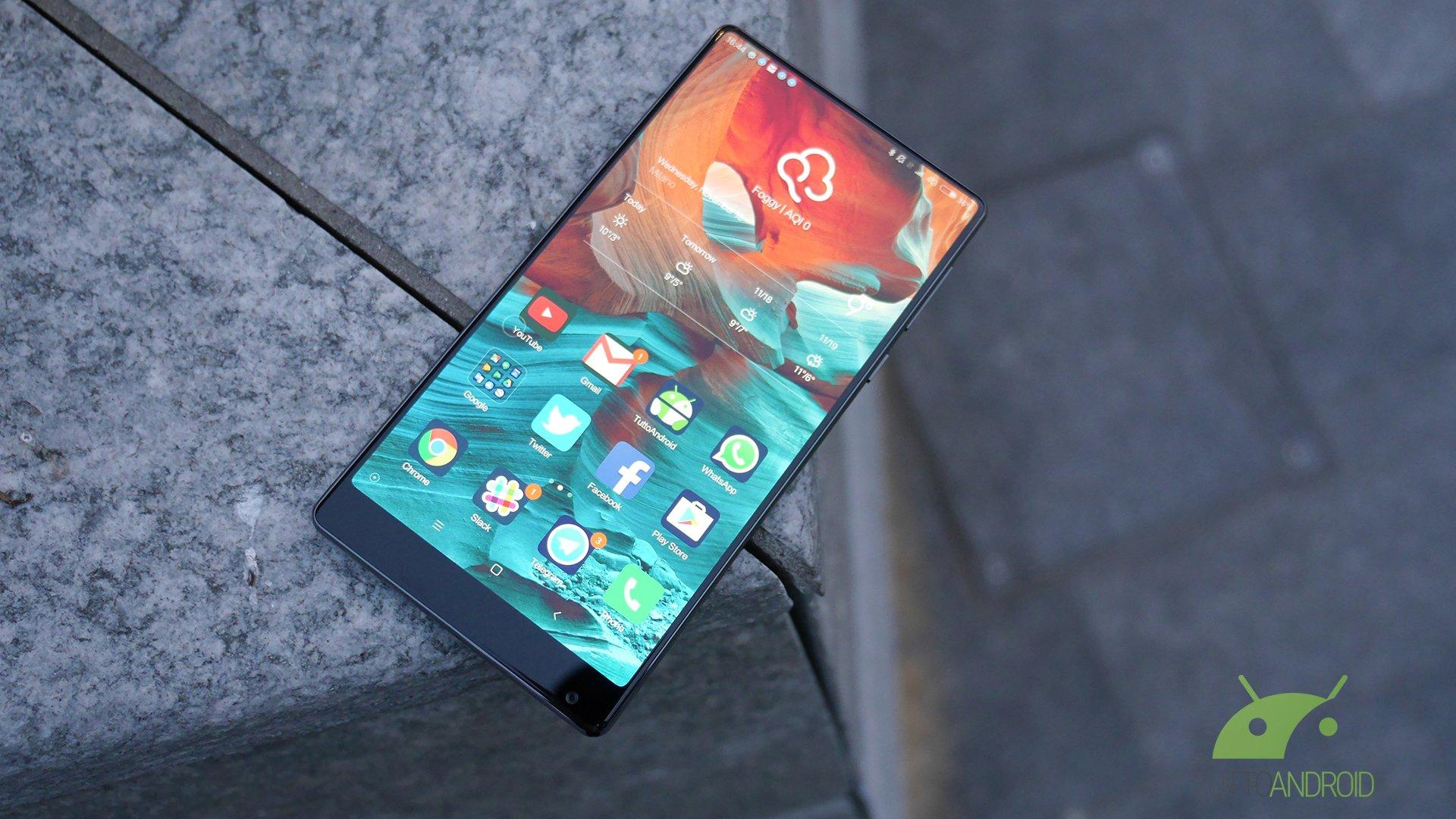 Xiaomi Mi Mix smontato pezzo per pezzo in video